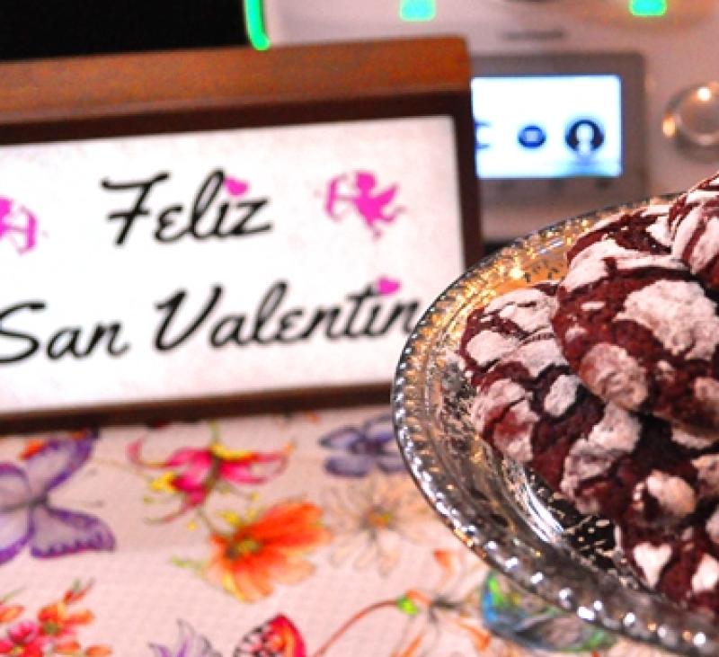Galletas rojo pasión: Feliz San Valentín con Thermomix®