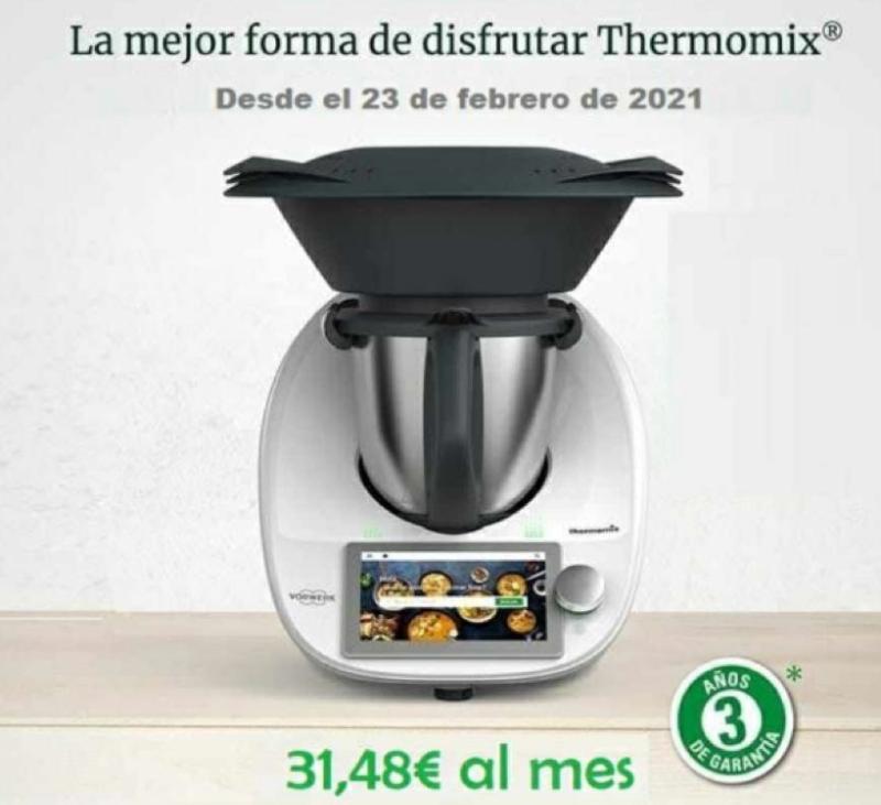 NUEVA PROMO!!!! TU Thermomix® DESDE 1€ AL DIA!!!!!