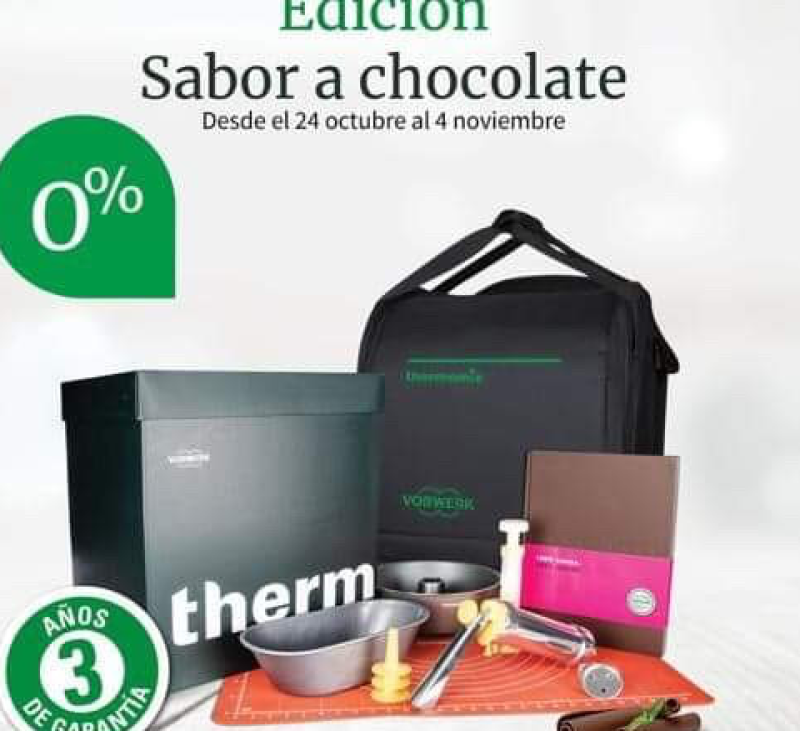 Thermomix® edición chocolate y 0% interés