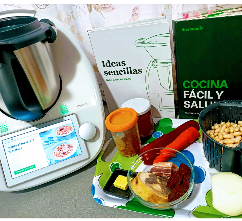 MENU SEMANAL FACIL Y SALUDABLE con Thermomix®