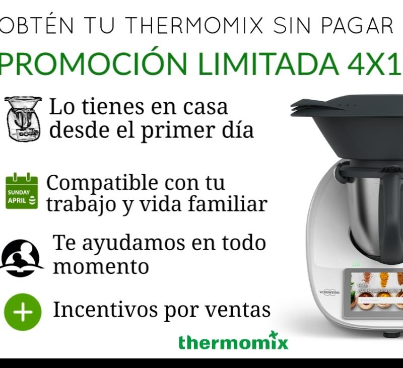 ADQUIERE Thermomix® SIN PAGAR