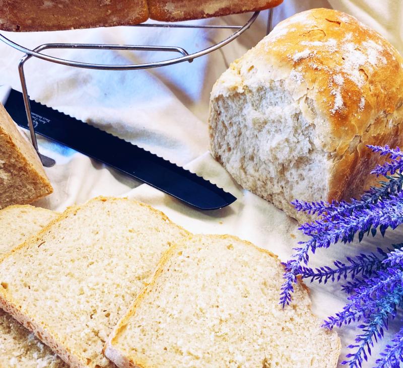 Pan de molde con masa madre con Thermomix®