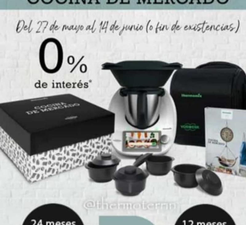 Thermomix® TM6 sin intereses y a tu medida. ''Edición cocina de mercado''