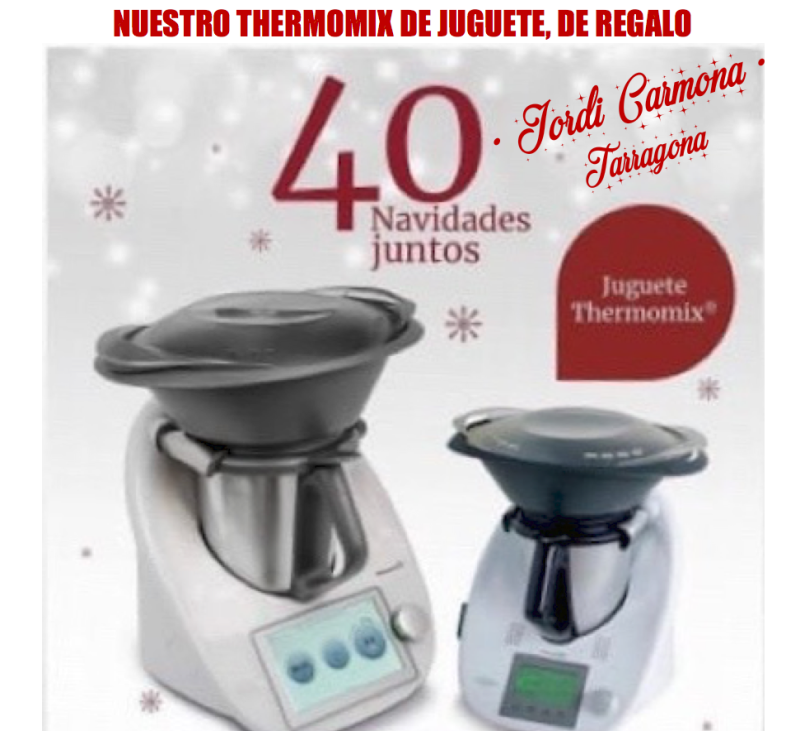 JUGUETE Thermomix® TM5 !