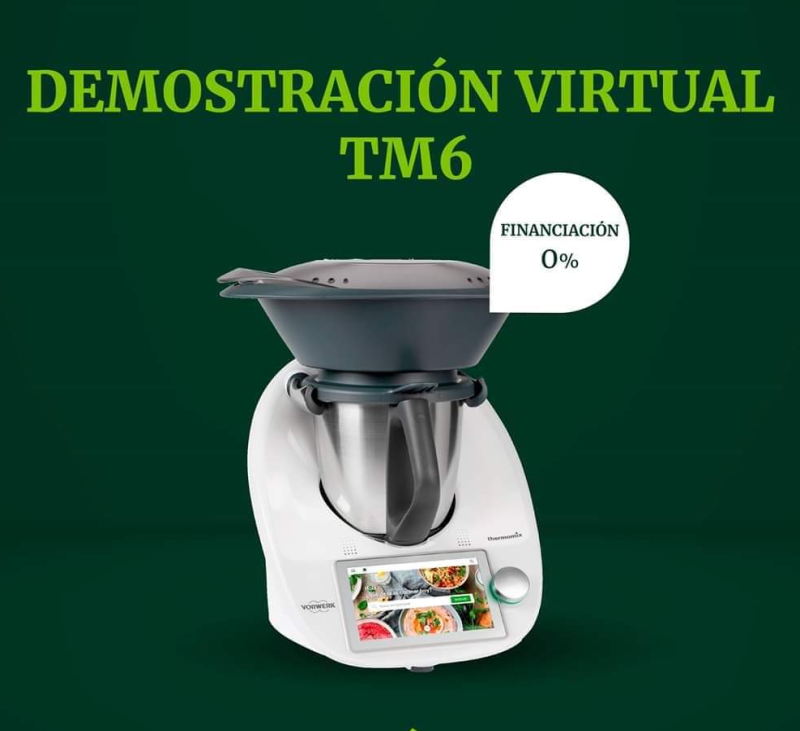 VIDEO PRESENTACION Y SOLICITUD DE DEMOSTRACION VIRTUAL Thermomix® .Villanueva de la Serena / Don Benito;Badajoz.