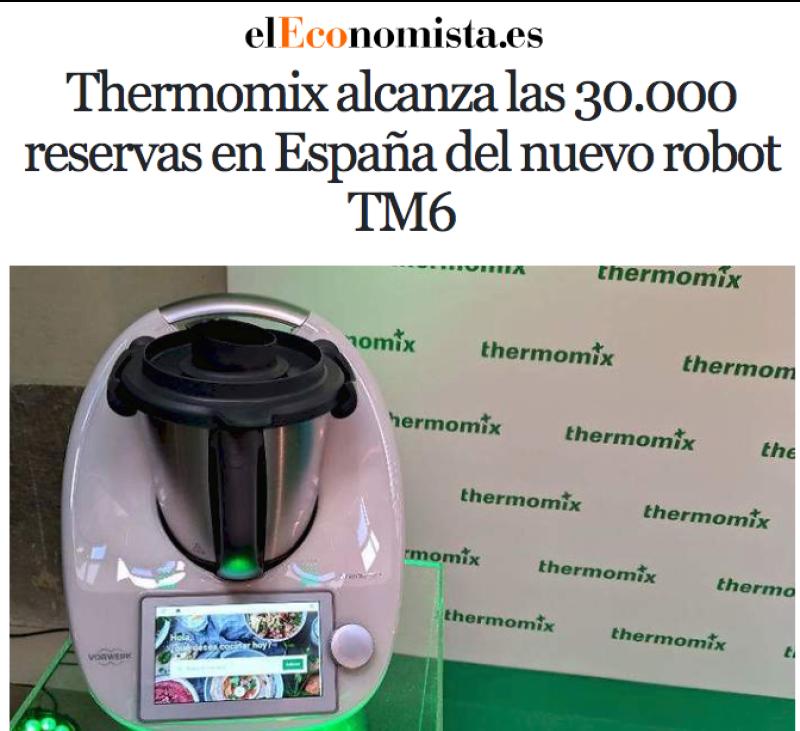 NOU Thermomix® TM6™ - PROXIMAMENT !
