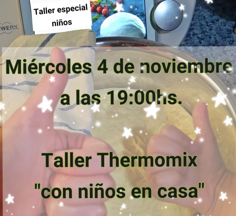 Taller Thermomix® para niños y papas