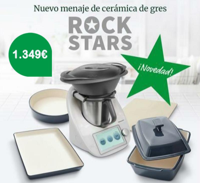 COMPRAR Thermomix® - 32,11 €/mes, 3 años de garantia con kit cerámica de gres