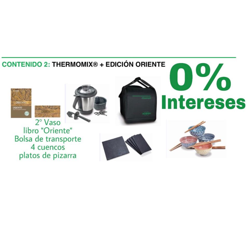 thermomix Sin intereses 0% ORIENTE