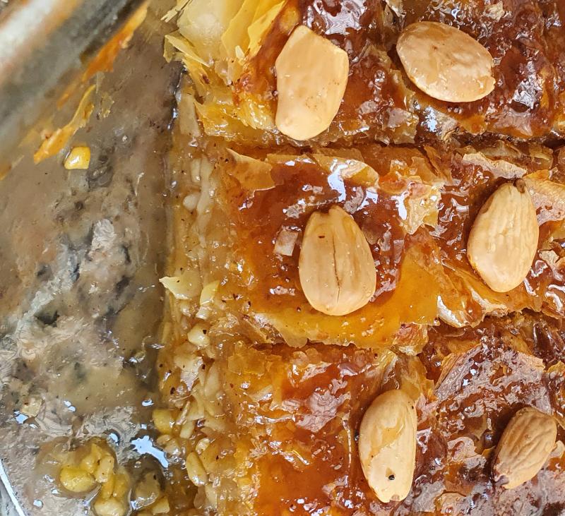 Pastelitos de miel libaneses (Baklavas) - Líbano