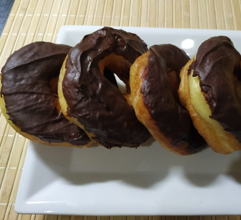 Receta Thermomix® - Rosquillas americanas (doughnuts) - Donuts - Donnuts caseros