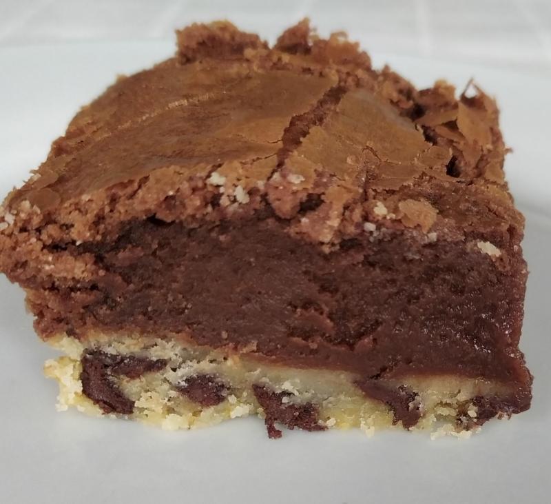Tarta de cookies, Oreo y brownie