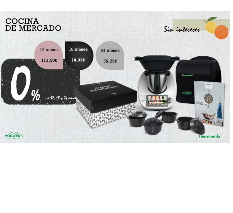EDICIÓN COCINA DE MERCADO SIN INTERESES EN Thermomix®