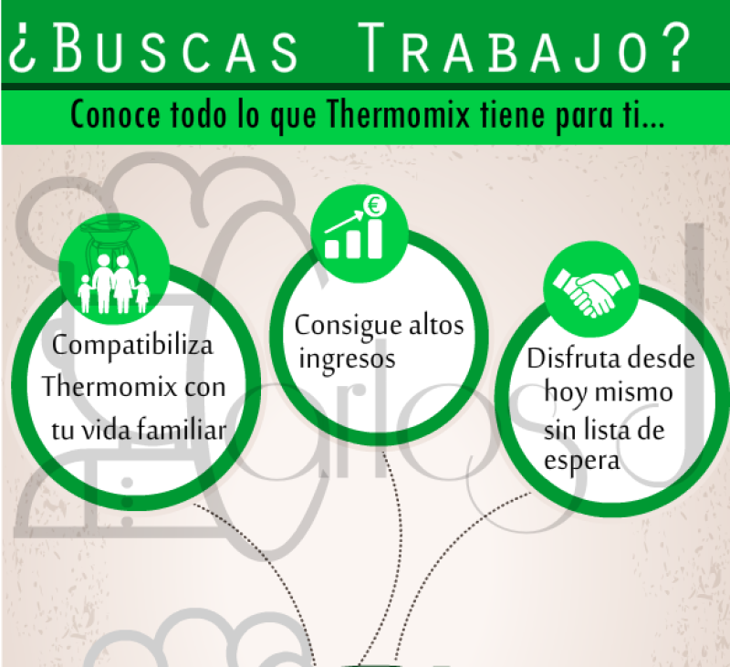 Thermomix® sin pagar y una gran carrera profesional. Villanueva de la Serena / Don Benito (Badajoz)