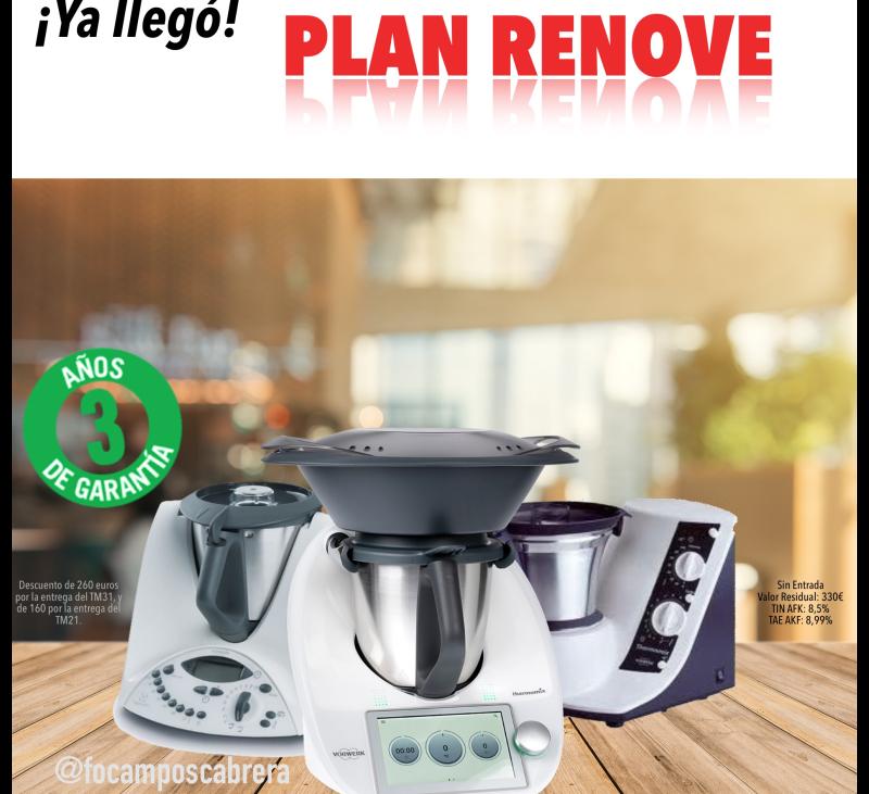 Plan Renove Thermomix® , hasta 260 euros de ahorro al cambiar tu actual modelo