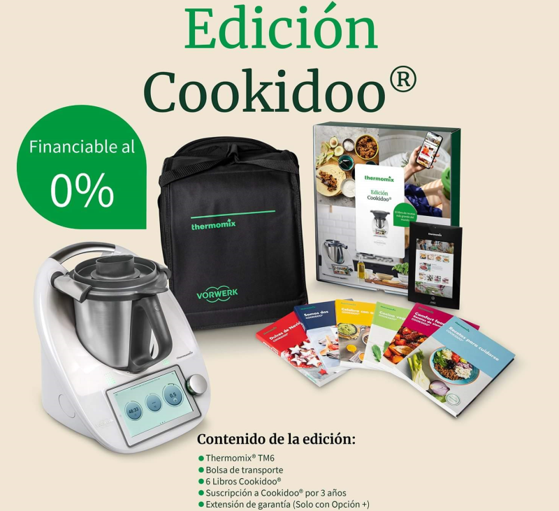 Promoción especial Thermomix® Edición Cookidoo 0%