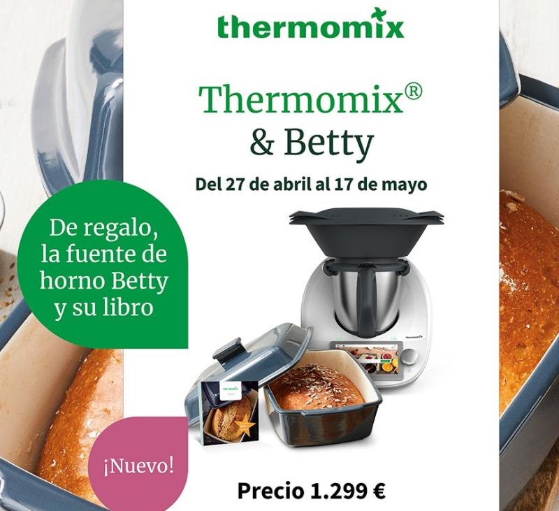 Thermomix® JUNTO CON BETTY Y HORNEA COMO NUNCA