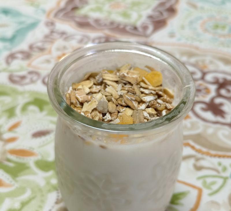Yogur líquido de coco en Varoma - Modo fermentar