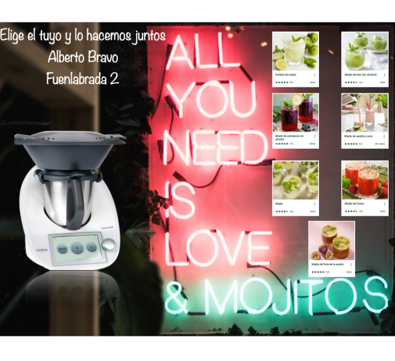 All you need is love & mojitos & Thermomix®