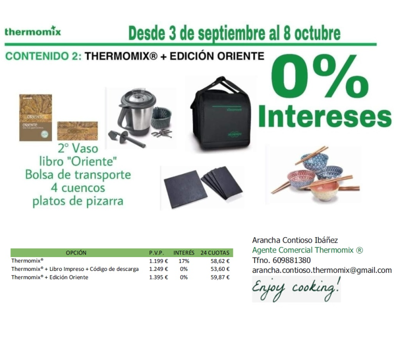 EDICIÓN ORIENTE CON FINANCIACIÓN (0% INTERÉS)