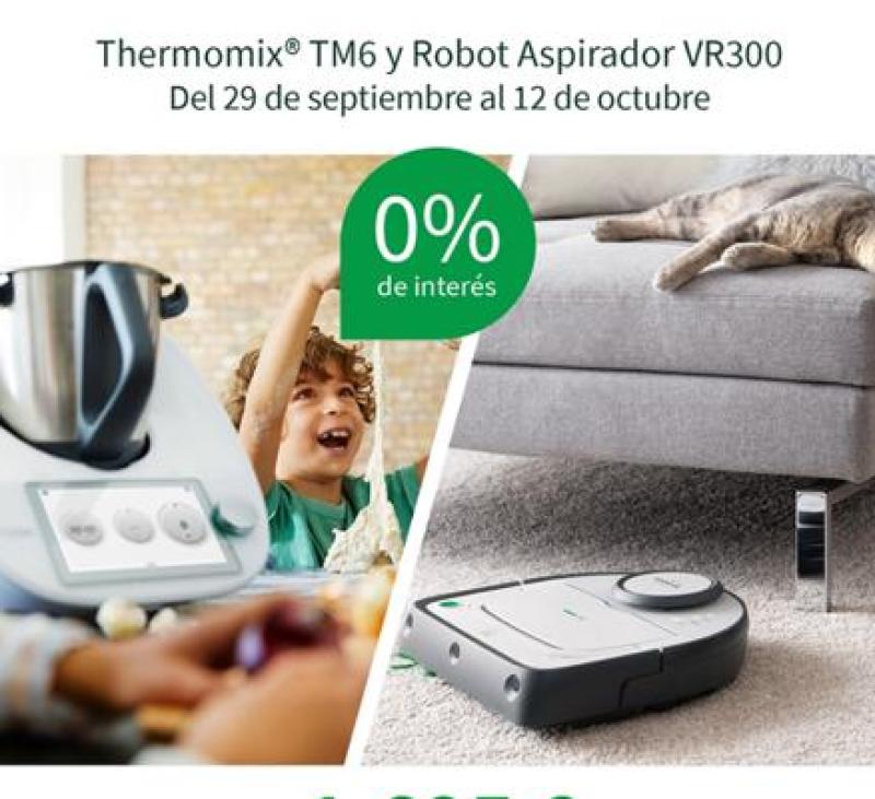 ESPECTACULAR PROMOCIÓ TM 6 I TU ASPIRADORA VK300 SENSE INTERESSOS