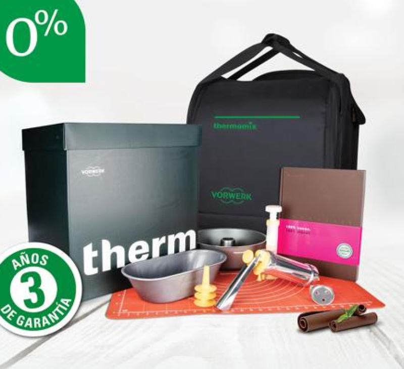 Thermomix® ️ TM 6 Edición Sabor a Chocolate, financiación al 0% sin intereses