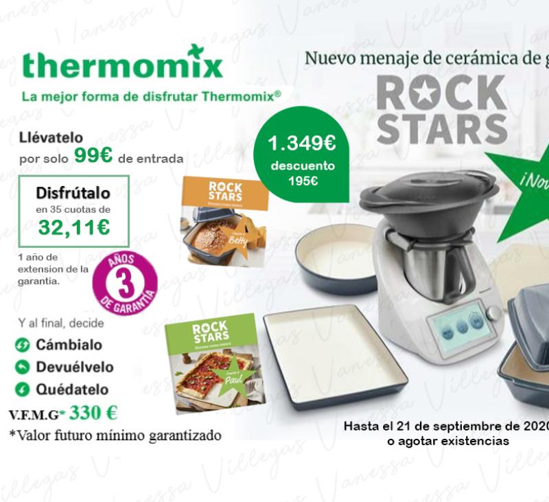 Comprar Thermomix® Tm6 - Edición ROCK STAR