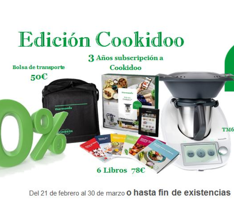 Thermomix® TM6 EDICIÓ COOKIDOO®