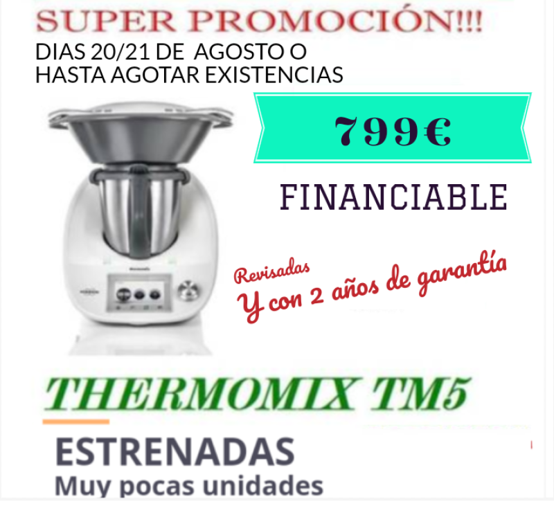 SUPER PROMOCIÓN!!!! TM5 a 799€