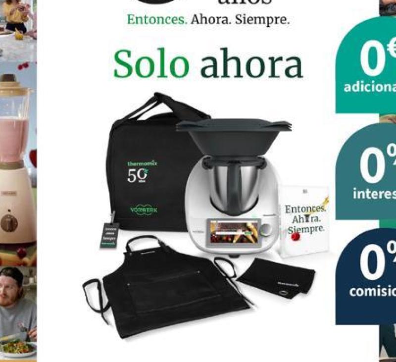 Thermomix® sin intereses por solo 34,69€