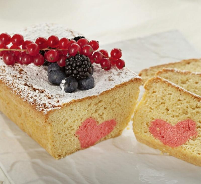 Cake con corazón, celebrando San Valentín con Thermomix®