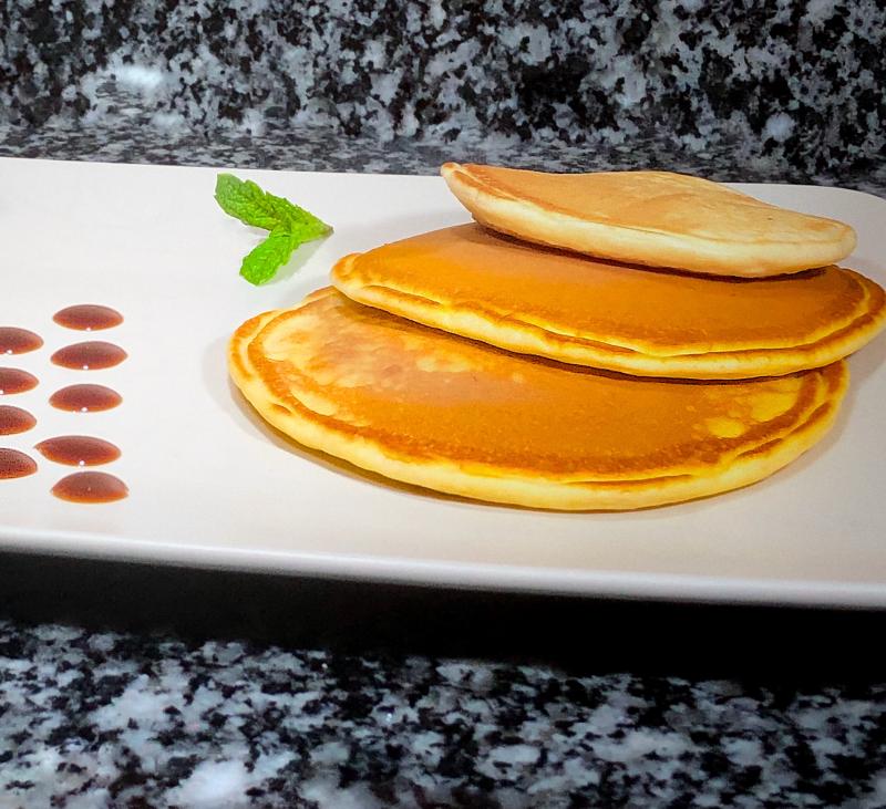 Tortitas Americanas: Una merienda o desayuno de Domingo con Thermomix®