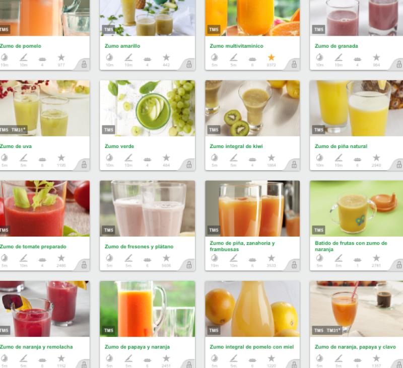 sucs de fruites amb Thermomix®