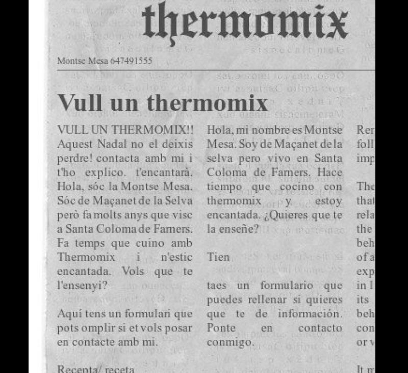 Regala Thermomix® aquest Nadal