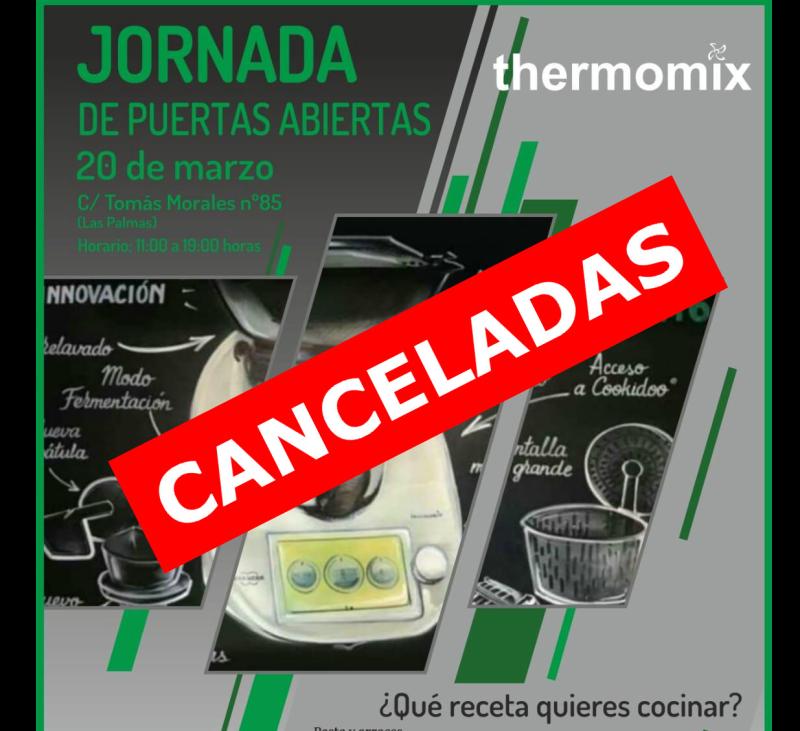 Canceladas las jornadas de puertas abierta programadas
