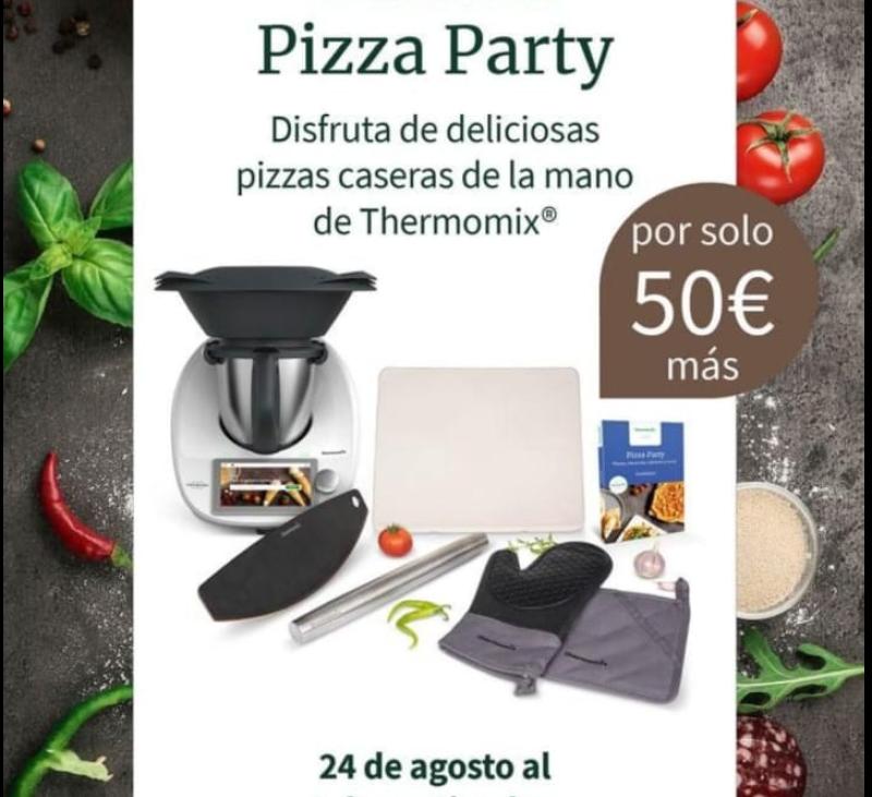 Pizzas con Thermomix®