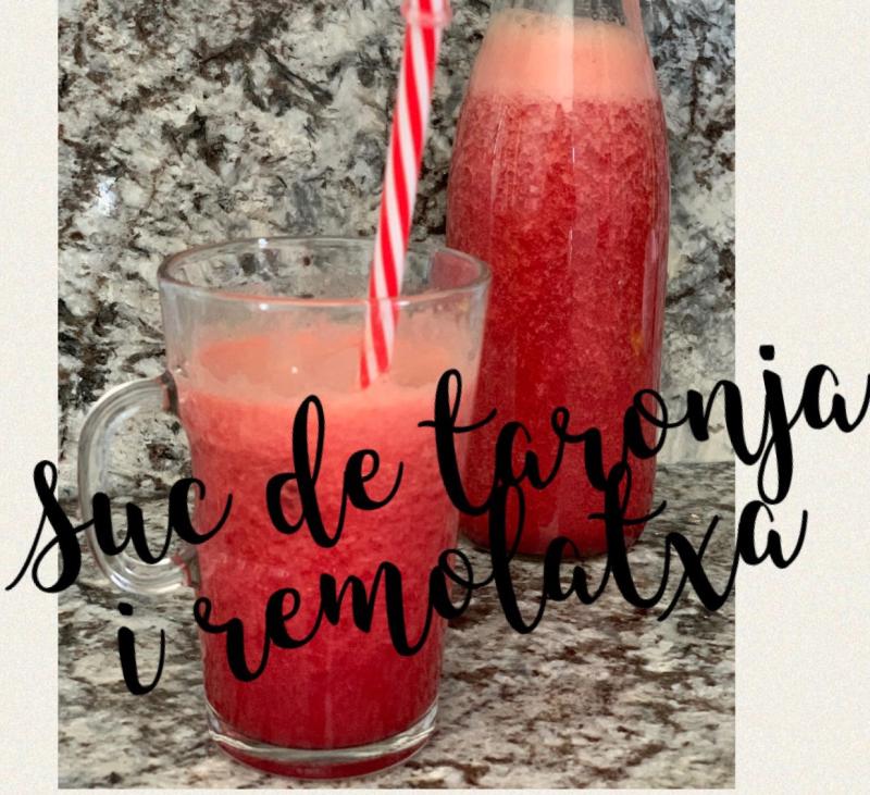Suc de taronja i remolatxa amb Thermomix®