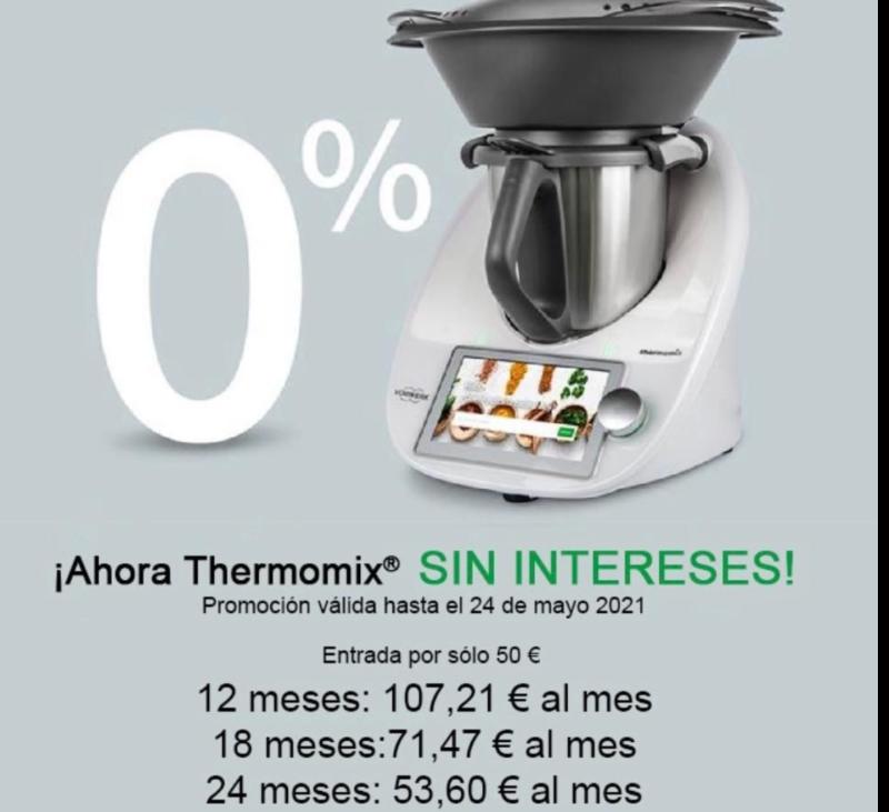 Thermomix® Financiación sin intereses