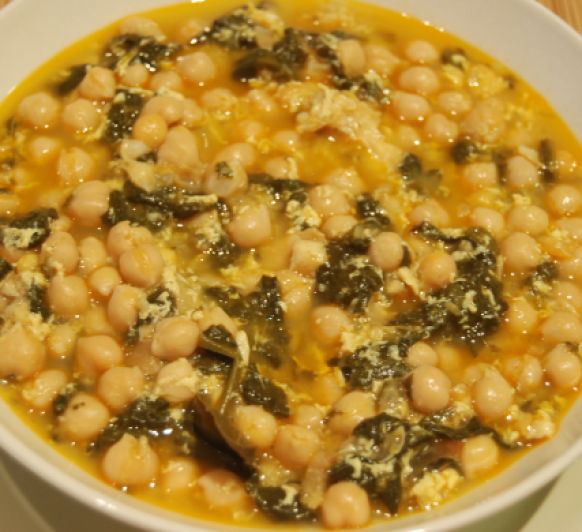 POTAJE Thermomix® DE GARBANZOS Y ACELGAS