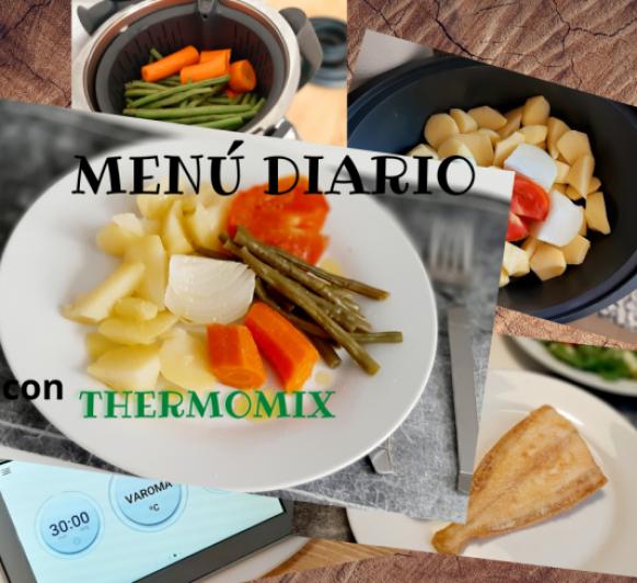 MENÚ HERVIDO Y PESCADO 22 septiembre con Thermomix®