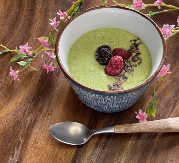 Esmorzar verd amb energia / desayuno verde con energía