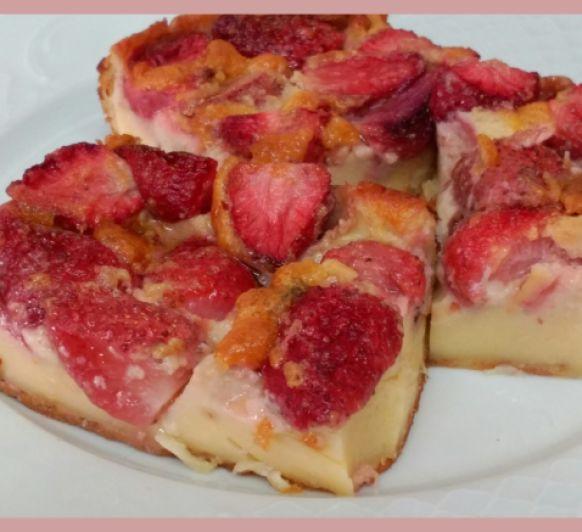 Millason (pastel frances con fresas) con Thermomix®