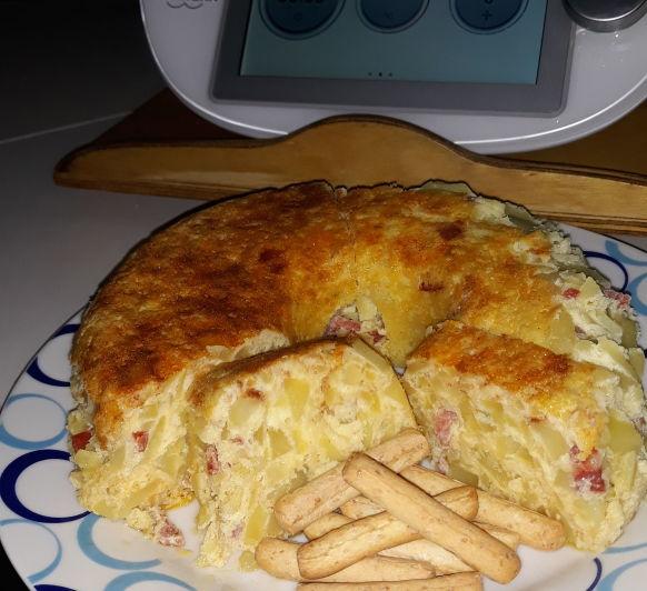 Tortilla Campera al pimenton