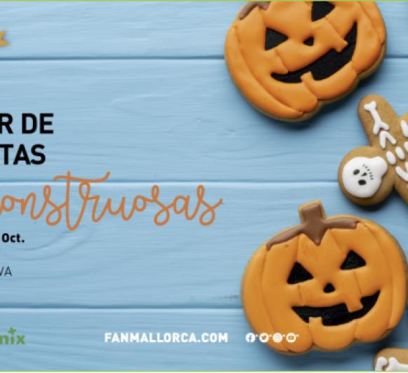 Galletas Monstruosas de Halloween