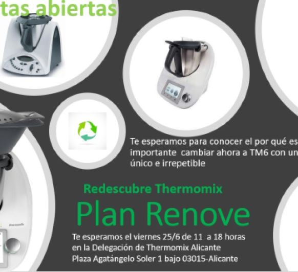Redescubre Thermomix® PLAN RENOVE