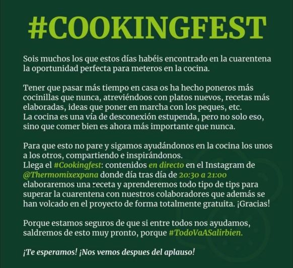 #COOKINGFEST