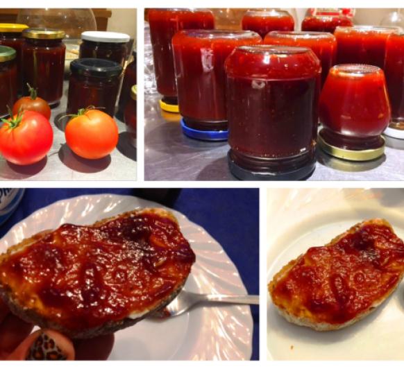 Cómo hacer mermelada de tomate con Thermomix®