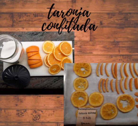 TARONJA CONFITADA 04/04/20