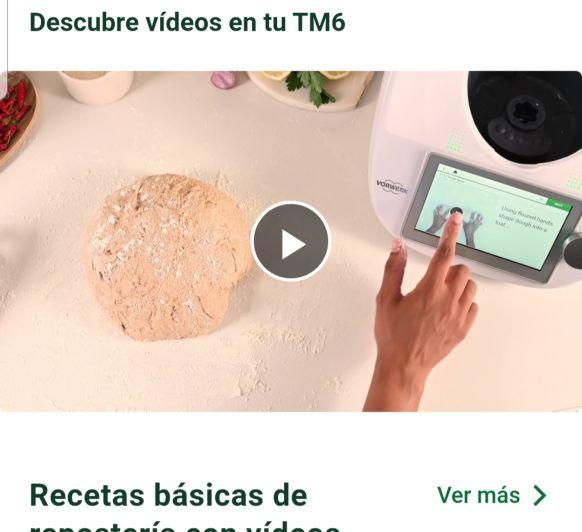 New! Vídeo en el Thermomix® (r) TM6