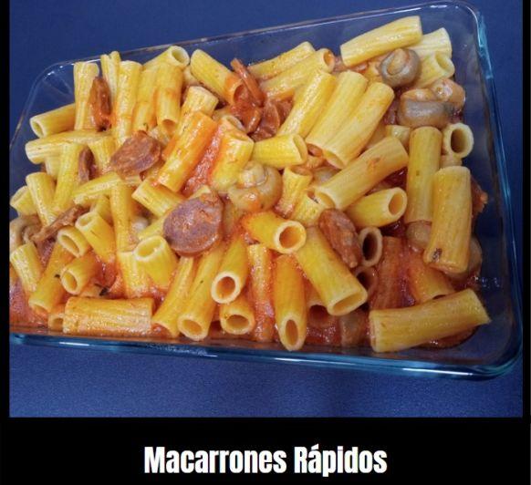 MACARRONES RÁPIDOS